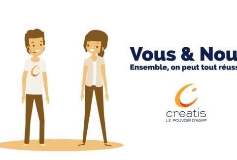Créatis – L'engagement