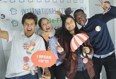 Welcome party for international students in Haut-de-France