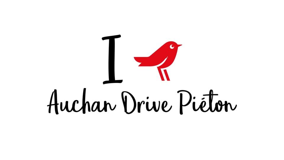 Auchan - Drive piéton