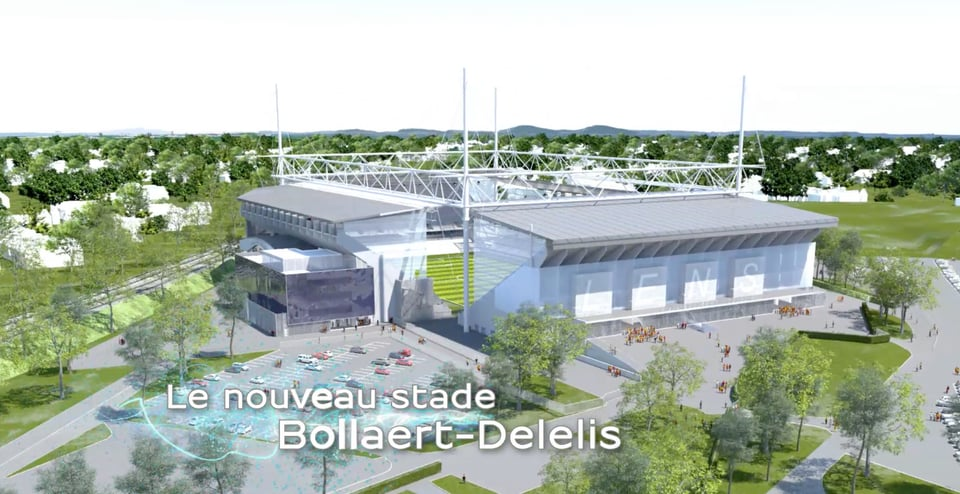 Stade Bollaert-Delelis 3D - RC Lens